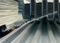 Bond-dek Metal Floor Decking or Comflor 80، 60، 210 Compositive Floor Deck Equivalent Profile